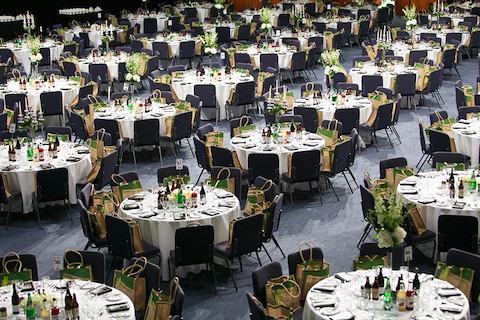 Awards Ceremony In The Centaur Cheltenham Racecourse A Jockey Club Venue