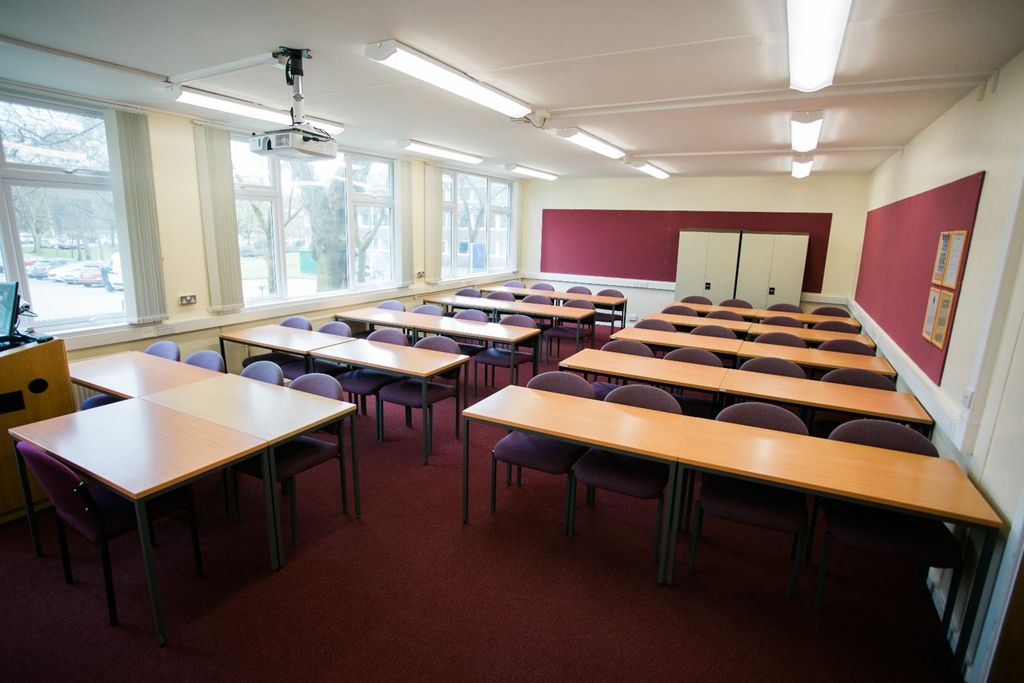 Classroom in Chancellor's Building
