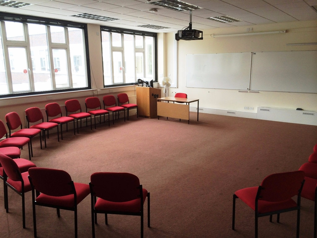 Room 1.100 in Chancellors Building