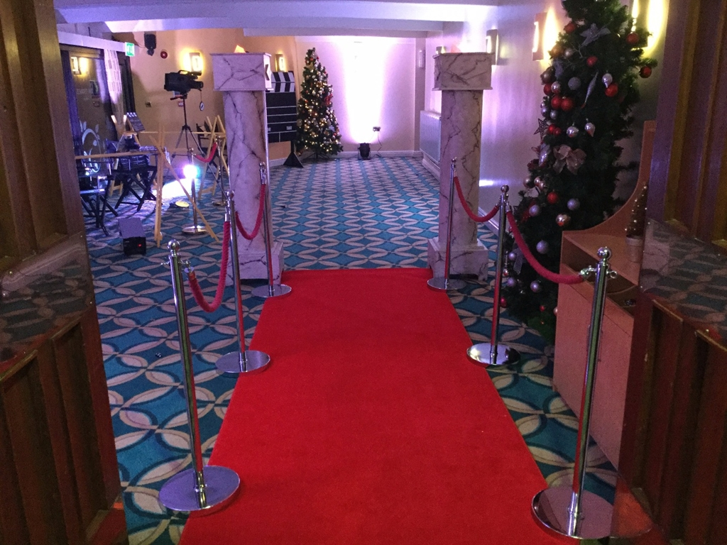 The Terrace - dressed for a Christmas Ball