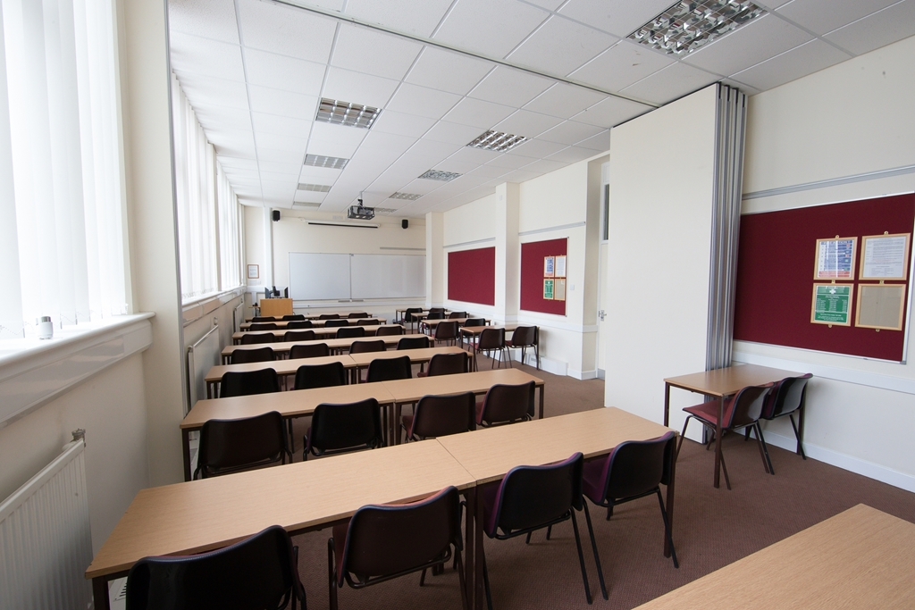 Classroom in Chancellors Building