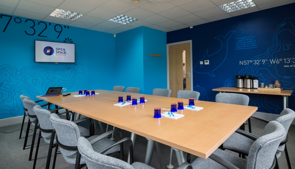 OS1 is the perfect room to get the team together or host a training course.