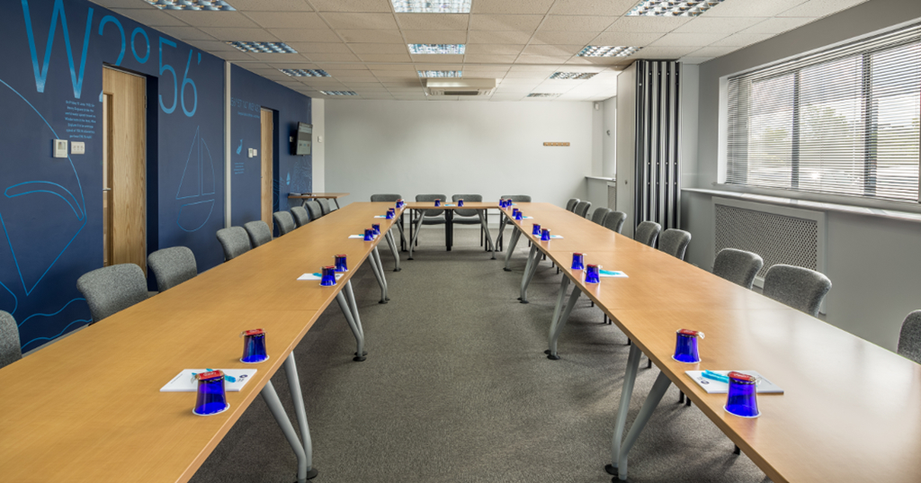OS3 has AC, projectors, natural light and a plenty of space for larger meetings and training.
