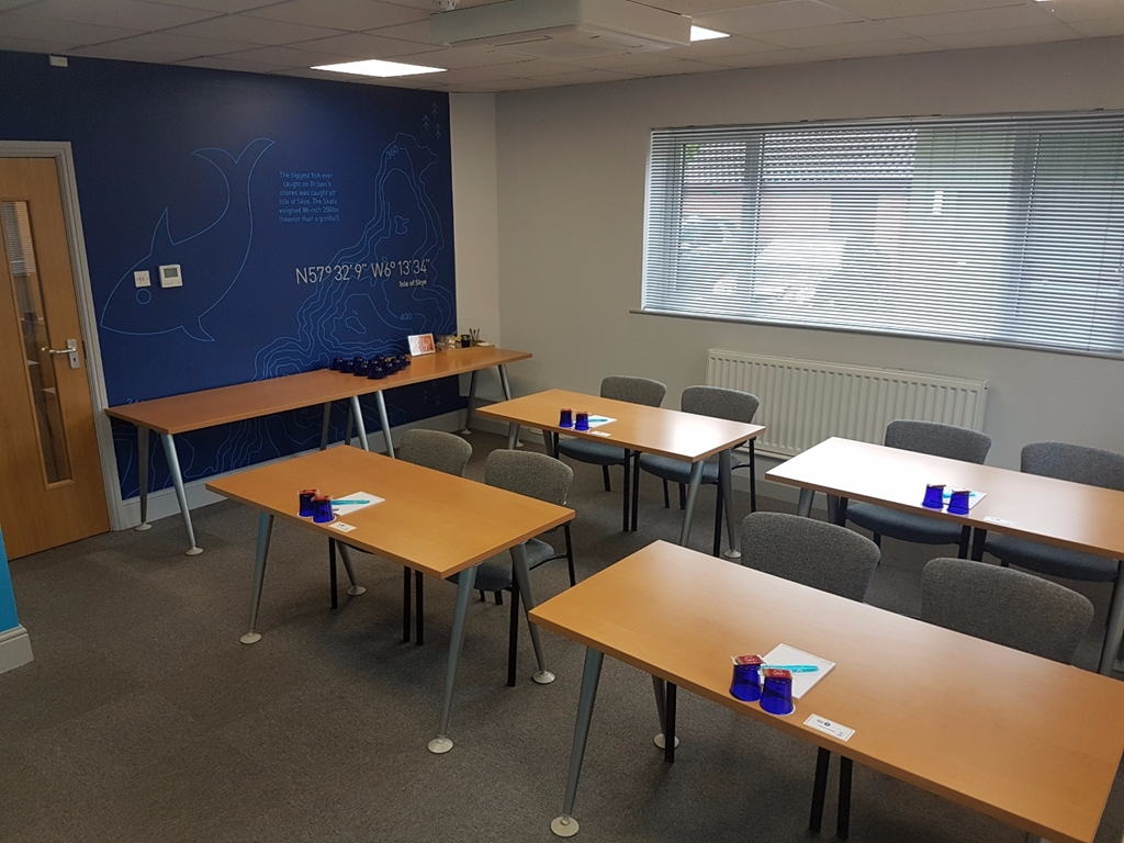 OS1 in a classroom style layout