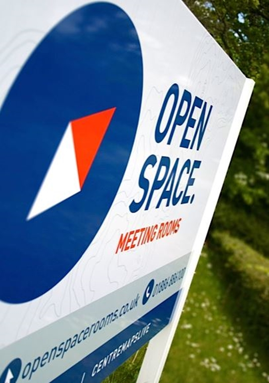 Open Space is located in a rural yet easily accessible location