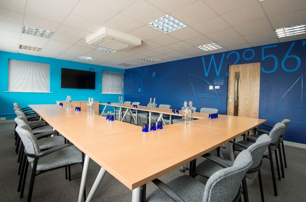 OS3 is a light airy room and can be be set up to your preference.