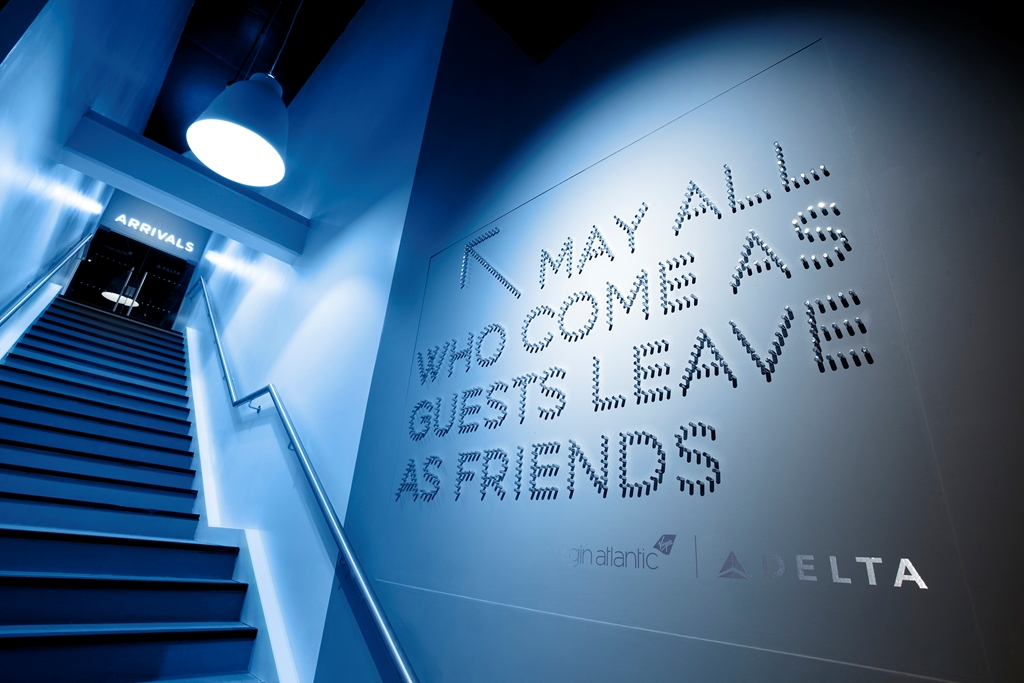 May all who come as guests leave as friends