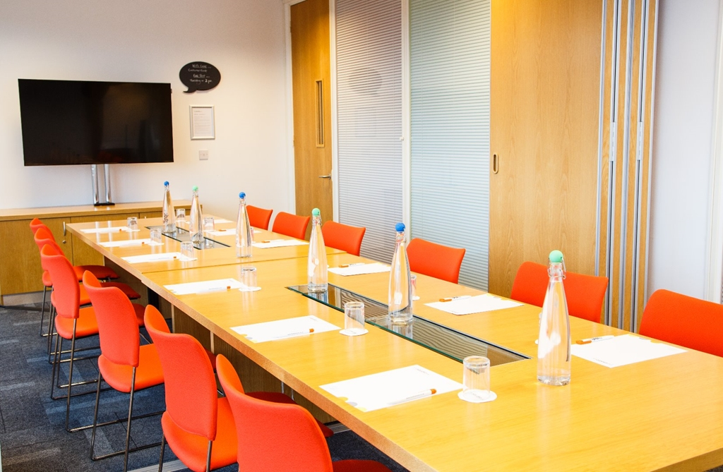 Rock and Roll combine to make one large boardroom