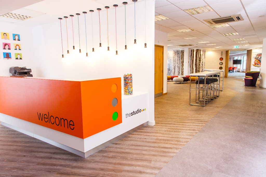 Reception - welcome to thestudio