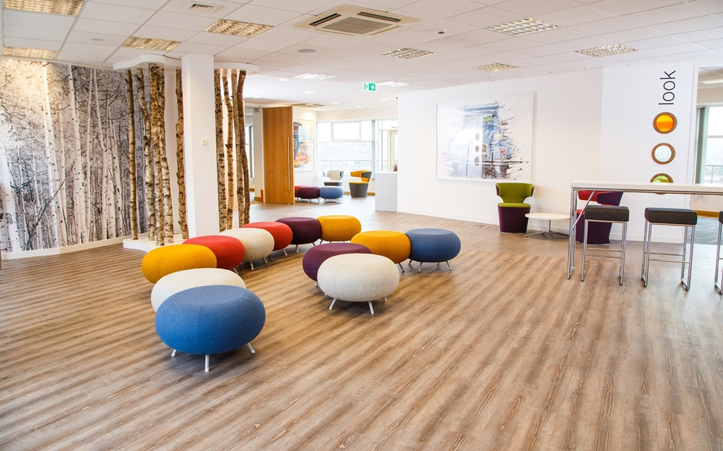 Refuel - our dedicated breakout area
