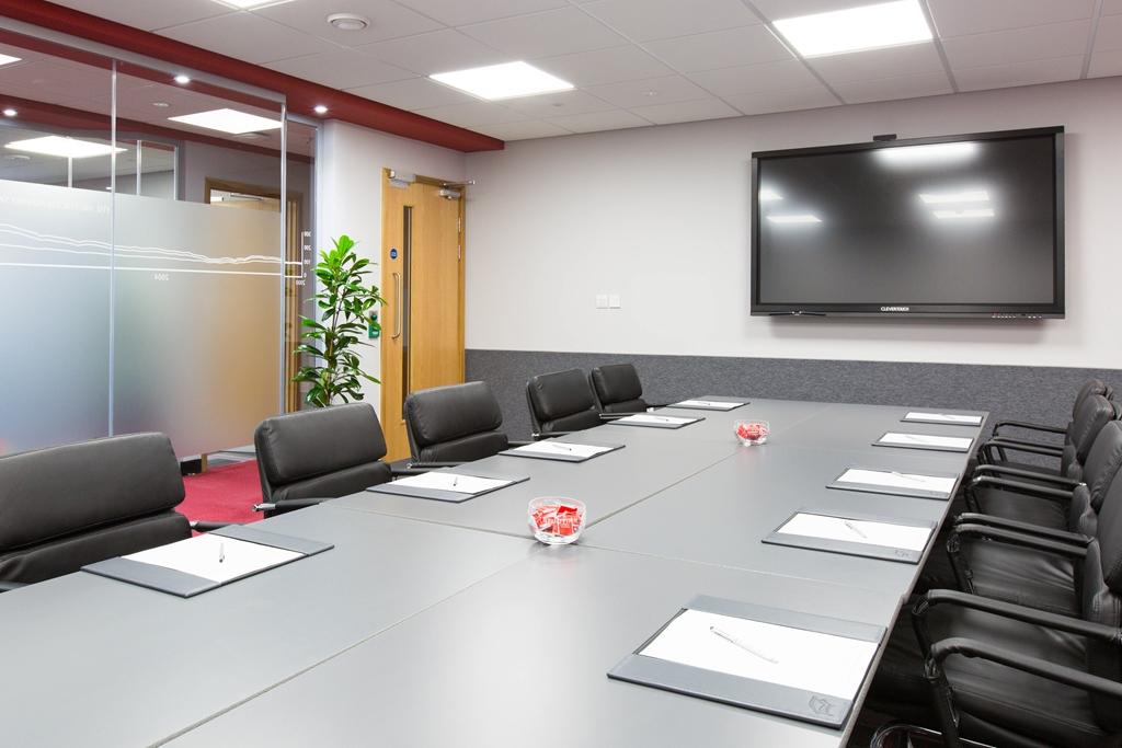 Boardroom set up