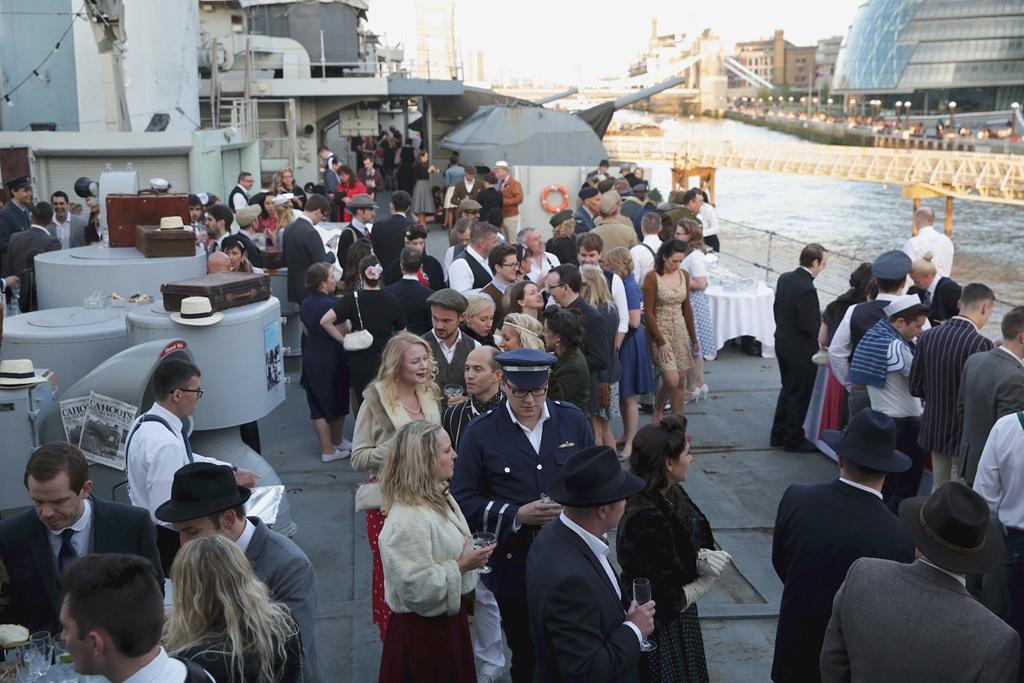 Boat Deck Parties