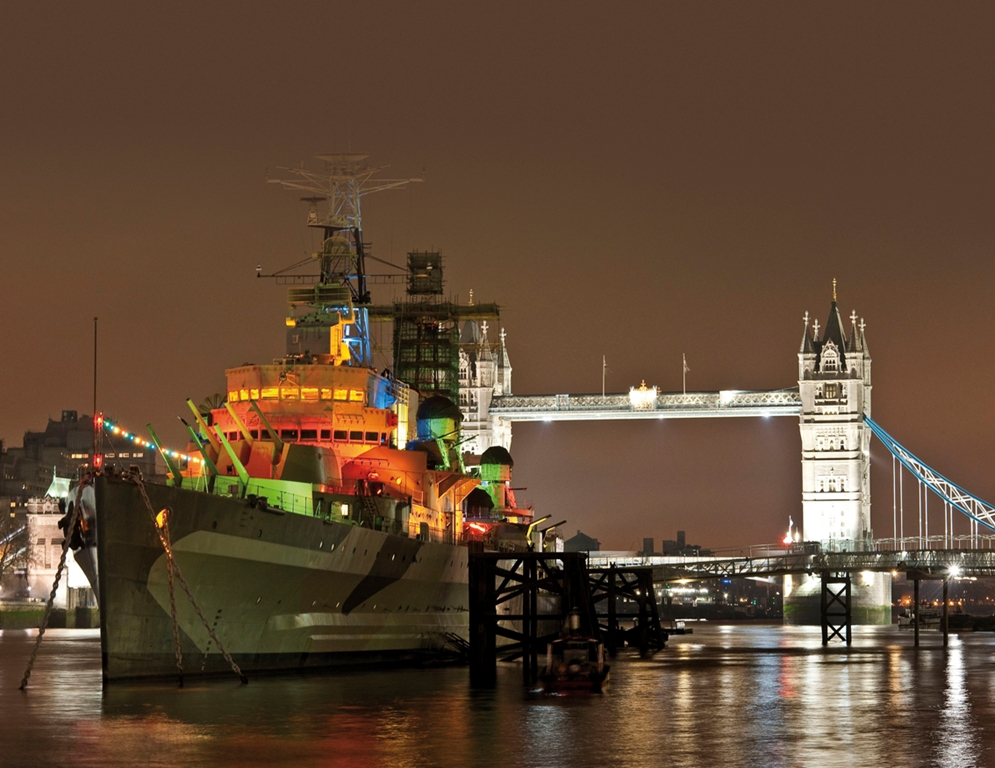 HMS Belfast On the River