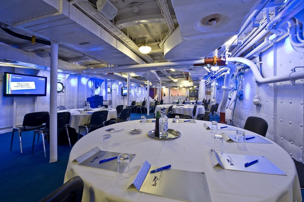 Ships Company Dining Hall - Caberet
