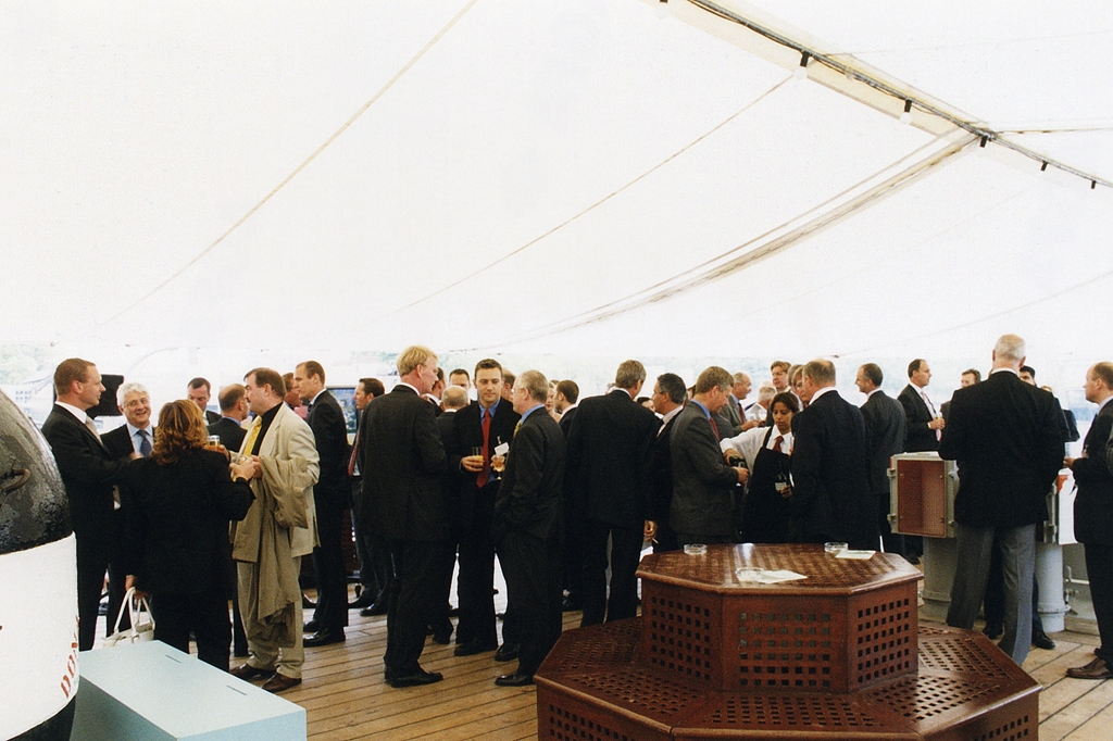 Quater Deck Drinks Reception