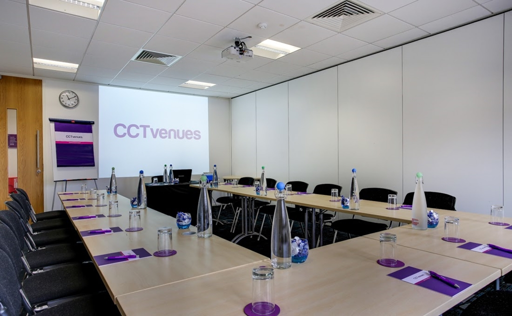 Enjoy a special introductory Day Delegate Rate of £35 this April at CCT Venues!