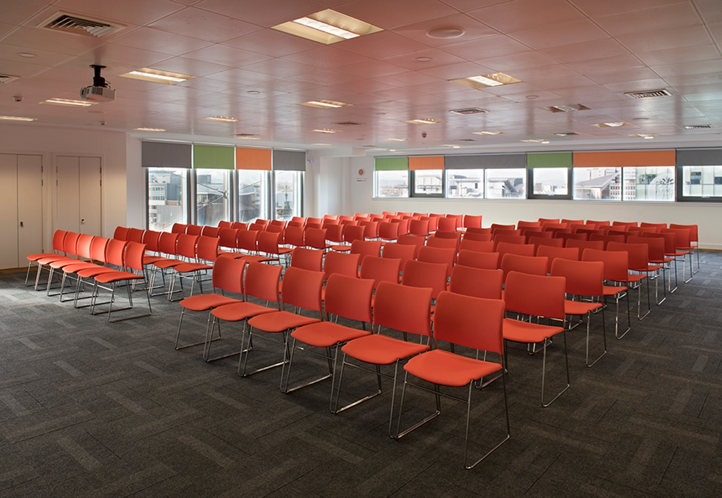 Climb - our largest event space with panoramic views of the city