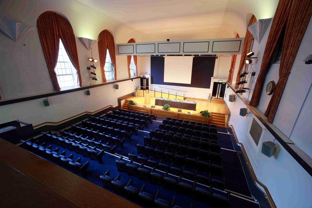 Tuke Hall Auditorium seats 370 guests