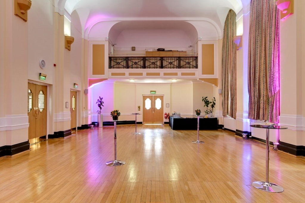 Herringham Hall : Reception Layout