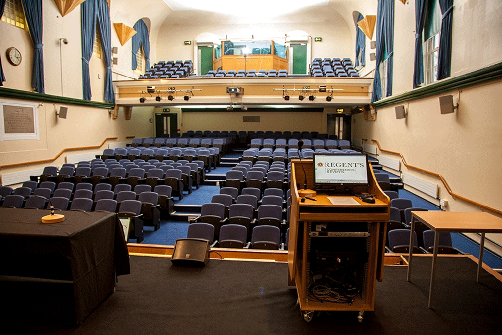 Tuke Hall - Stage View