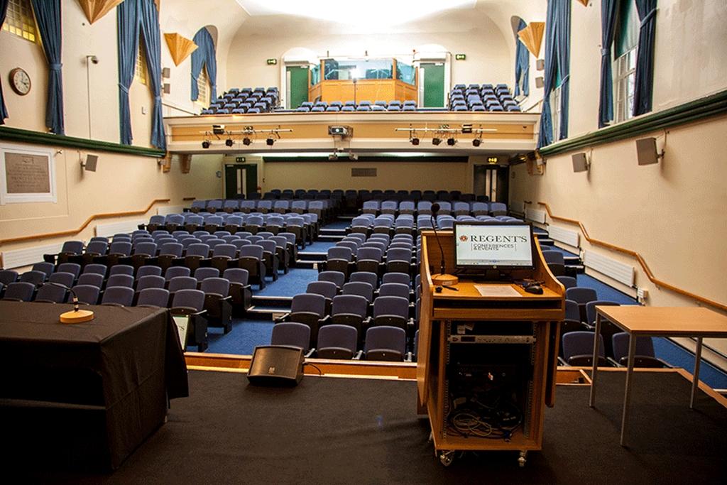 Tuke Hall - Stage View