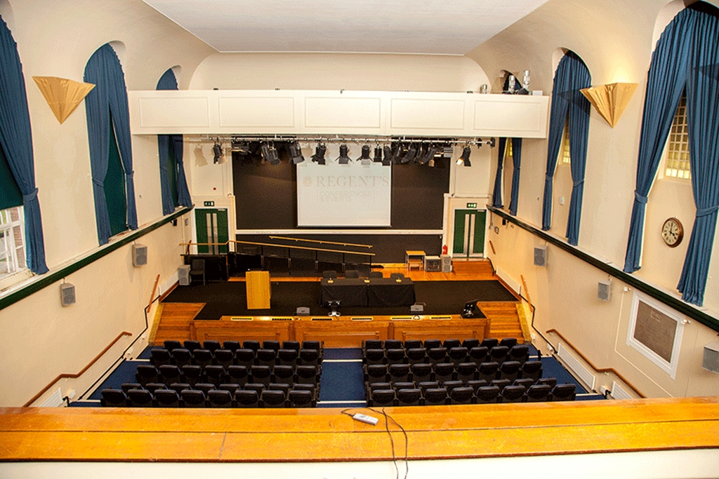 Tuke Hall - Balcony View