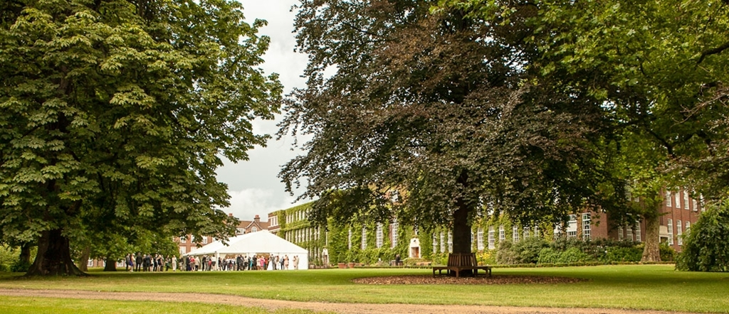 York Lawns featuring Temporary Marquee