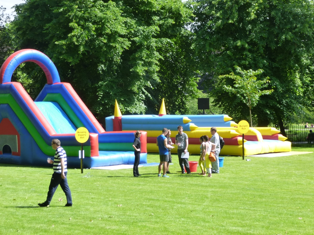 Team Building Activities on York Lawns