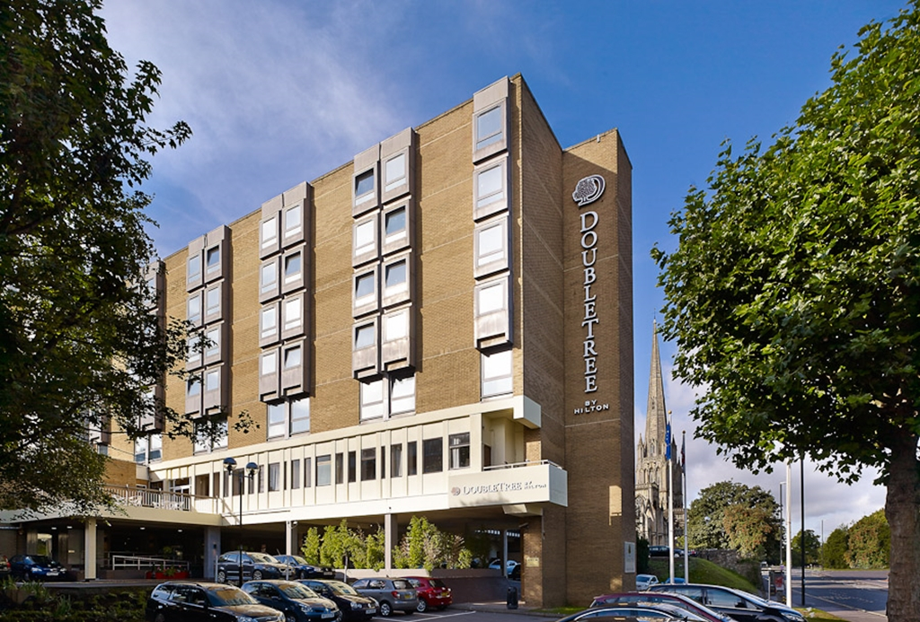 DoubleTree by Hilton Bristol City Centre Hotel.