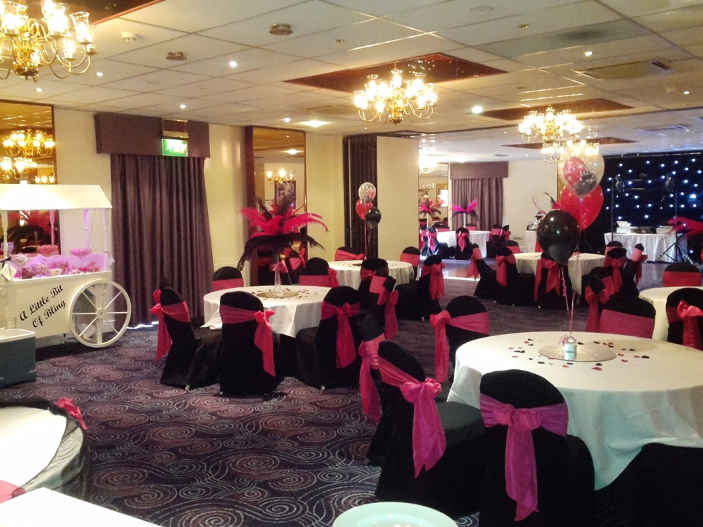 Park Suite evening set up
