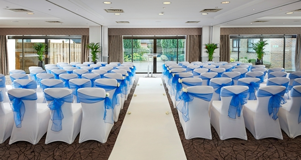 Wedding Ceremony in the Brooklands Suite