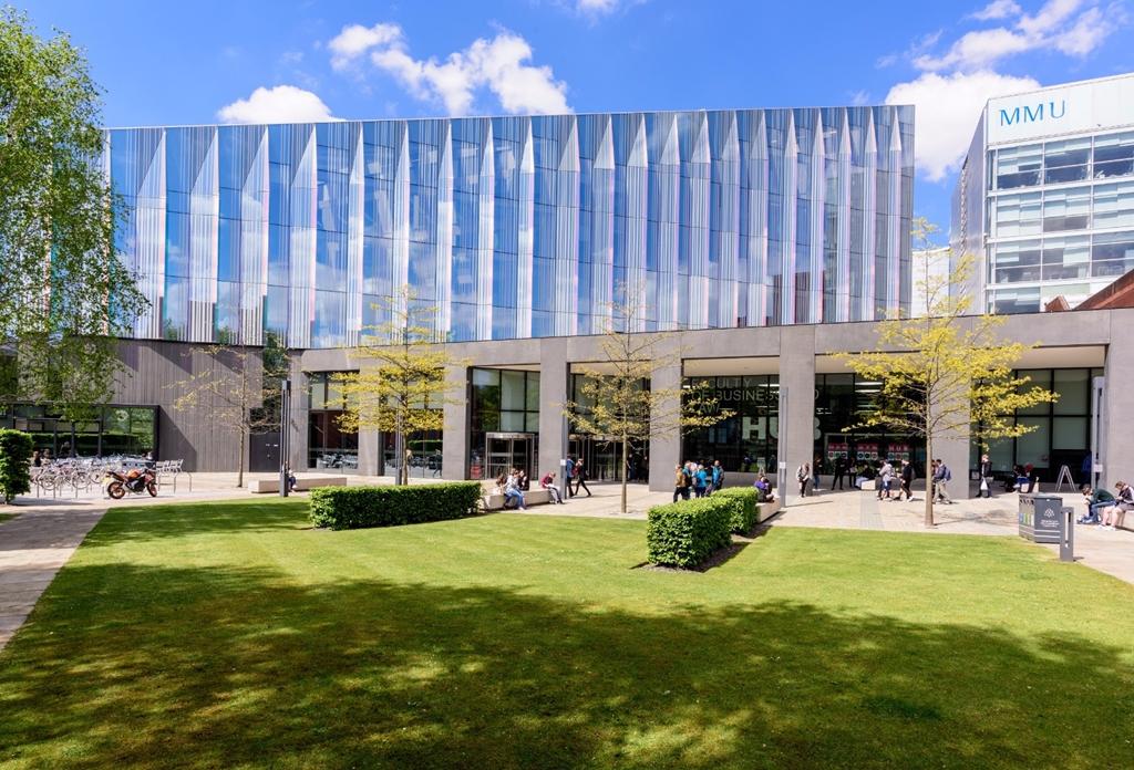 Business School. Photo by Rich Jones @richjjones courtesy of Marketing Manchester.