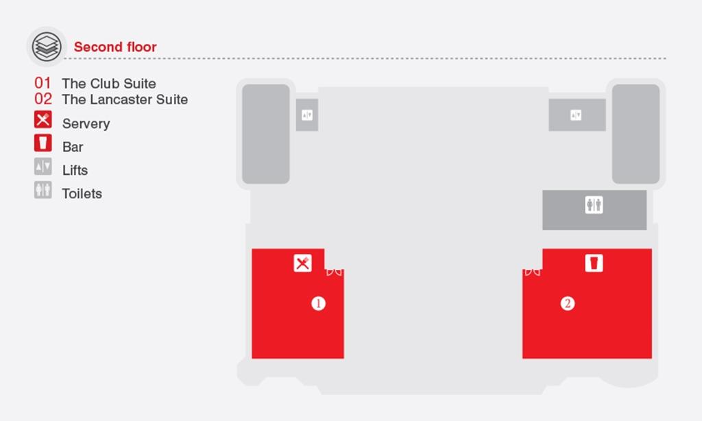 Floor-Plan, The Pavilion (2nd Floor)