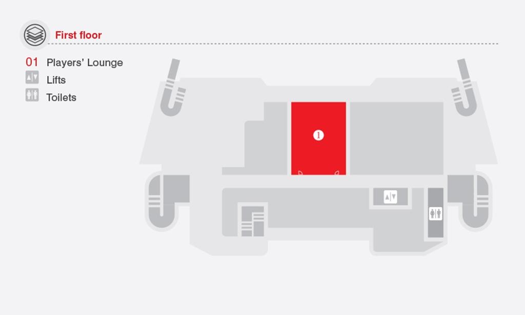 Floor-Plan, The Pavilion (1st Floor)