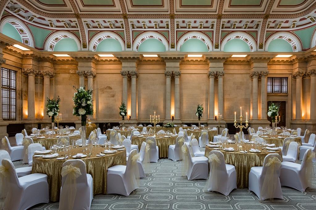 Sansovino Wedding / Banqueting setup