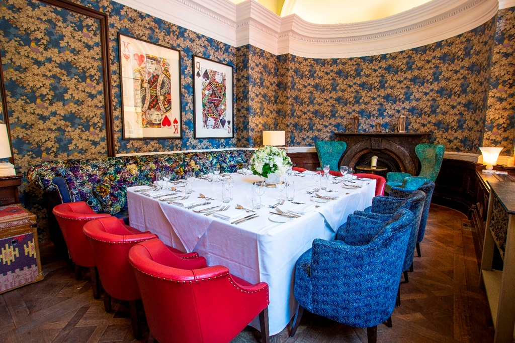 The Blue Room dining
