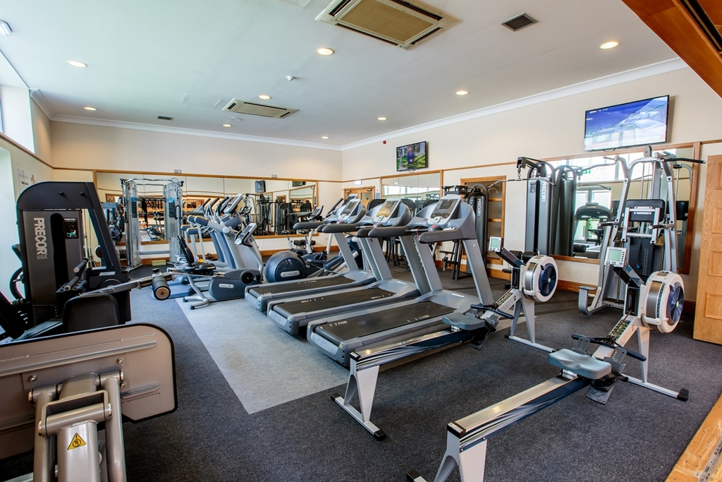 Our well-equipped gym