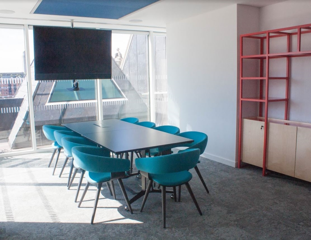 MR6.2 - Sixth floor meeting room holds up to 10 people boardroom style