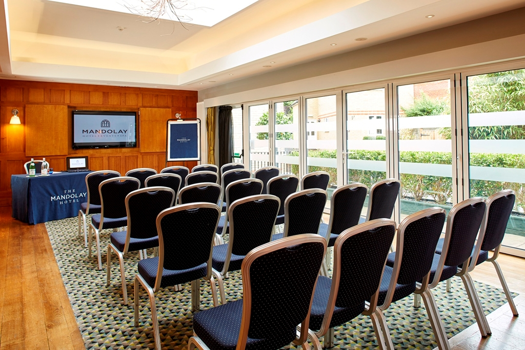 Oak Room - Theatre set up