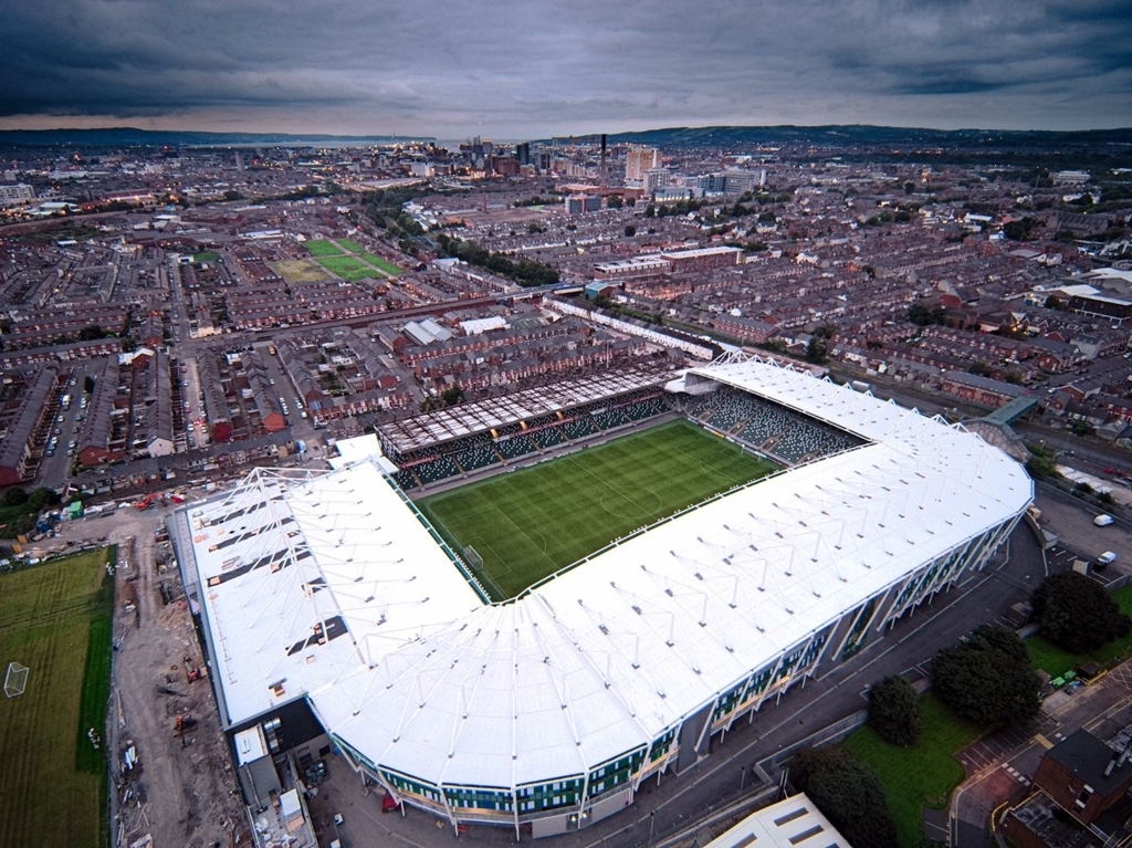 The National Football Stadium at Windsor Park, Belfast