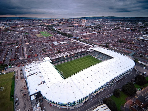The National Football Stadium At Windsor Park Belfast