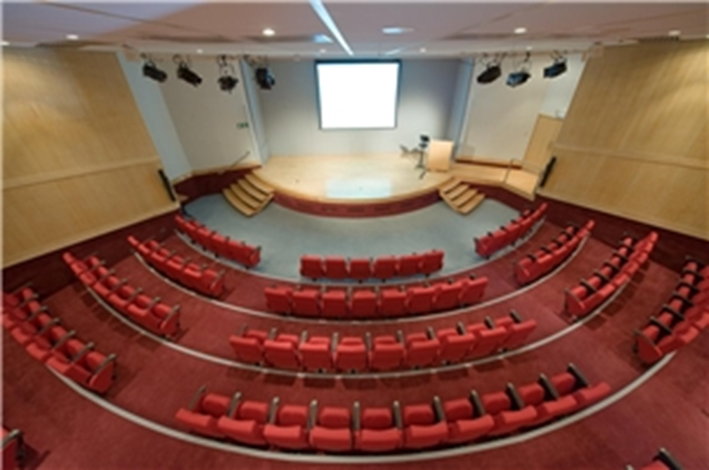 The Lecture Theatre - birdseye view