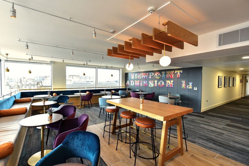 Breakout space with a nice view etc.venues Manchester