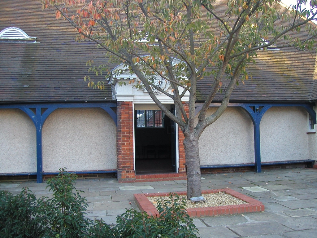 The Music school courtyard