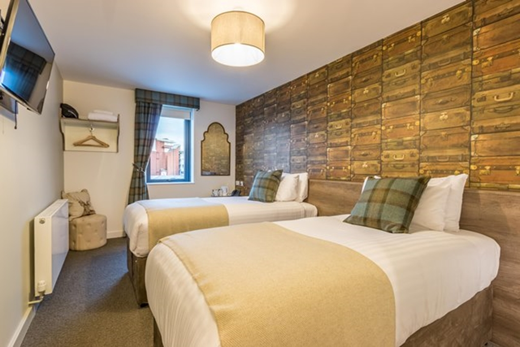 The Lodge Hotel - Standard Twin room
