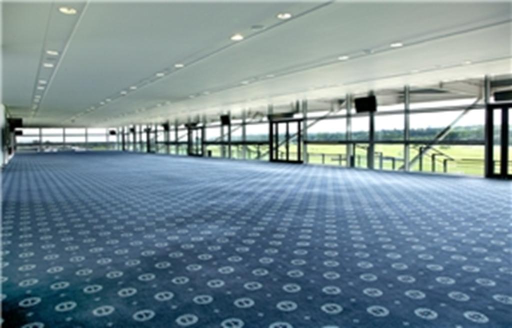 Grandstand second floor - empty