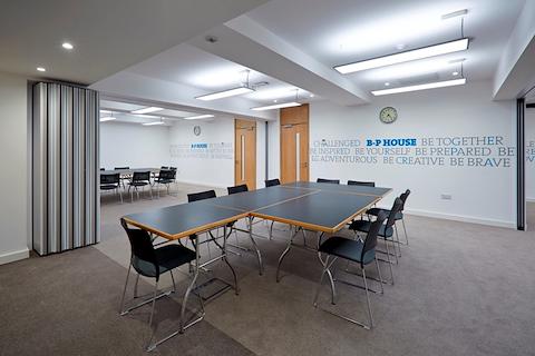 Baden Powell House London Meeting Room