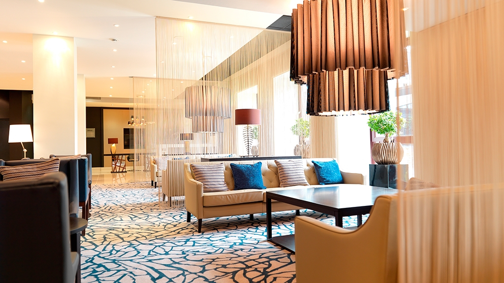 Lobby Lounge leading to The Ballroom