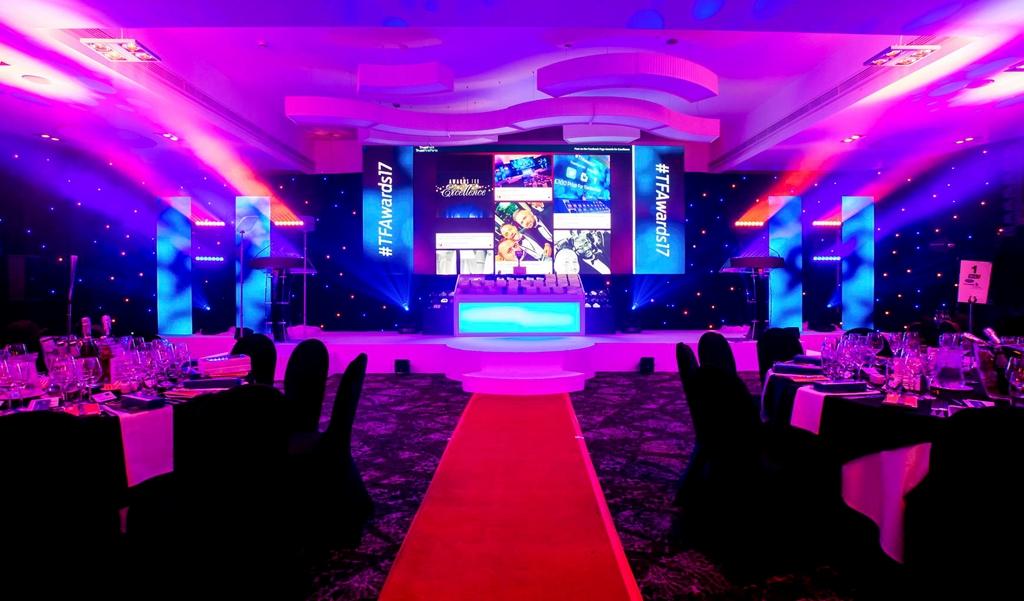 The Ballroom event set for awards dinner